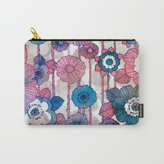 Hanging Flower Garland Carry-All Pouch