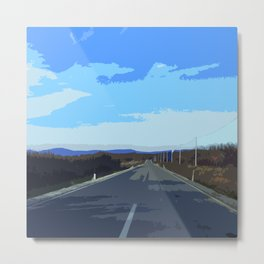 Road to valley Metal Print