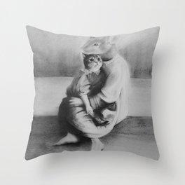 We Care Throw Pillow