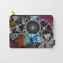 Floral Flutter Dream Carry-All Pouch