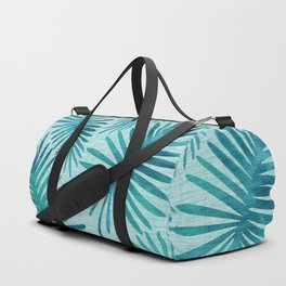 Mid Century Tiki Fronds Duffle Bag