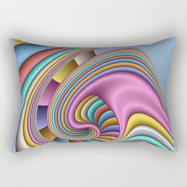 3D for duffle bags and more -27- Rectangular Pillow