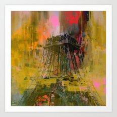 Paris  forever   (A day of gloom ) Art Print