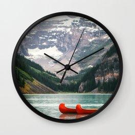 Kayak Canada Wall Clock