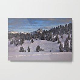 Berner Oberland Metal Print