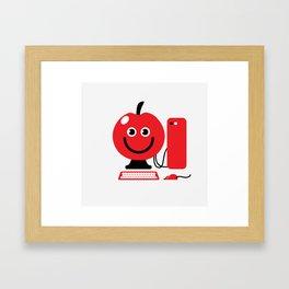 Fruity Computing Framed Art Print