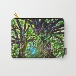 Bur Oak Canopy Dream | Painting Carry-All Pouch