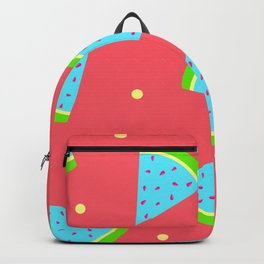 Watermelon in Neon | Watermelon Seed | Watermelon Home Decor | pulps of wood Backpack