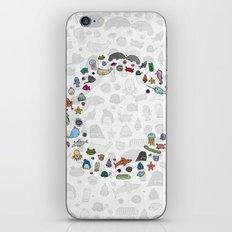 letter c - sea creatures iPhone & iPod Skin