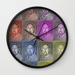 Pop Art Poppa Wall Clock