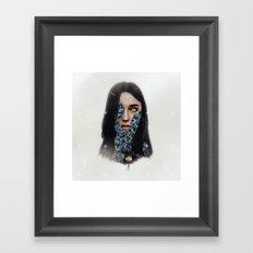 Opening. Framed Art Print