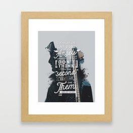 Sherlock - Angels Framed Art Print