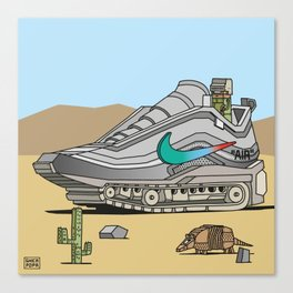 """air"" 4 Canvas Print"