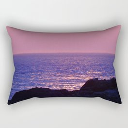 Pink at Dawn Rectangular Pillow