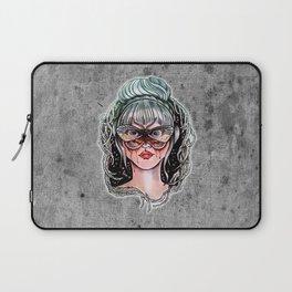 Night butterfly lady Laptop Sleeve