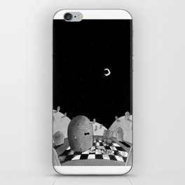 Quinten and the Graveyard iPhone Skin