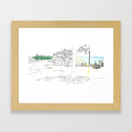 'CANADA' PART 7 OF 10* Framed Art Print
