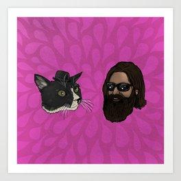 Tom Loves Boobie Art Print