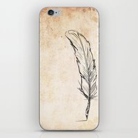 writing iPhone & iPod Skins featuring Writing by Steve Perrson