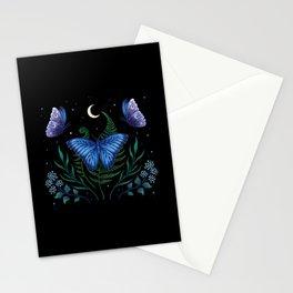 Blue Morpho Butterfly Stationery Cards