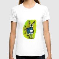 donkey T-shirts featuring Donkey by t i t i l l a