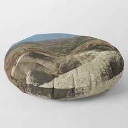Amazing Badlands Overview Floor Pillow