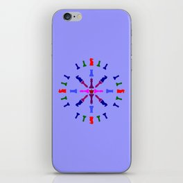Chess Piece Design iPhone Skin