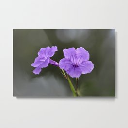 Flowerinas Metal Print