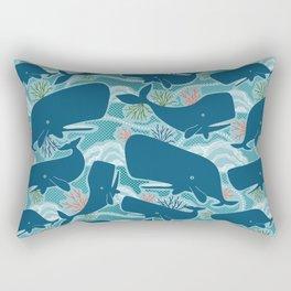 Aquatic Life Rectangular Pillow