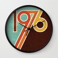 portal Wall Clocks featuring PORTAL by Untitled