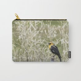 Yellow-headed Blackbird, No. 2 Carry-All Pouch