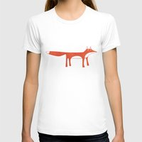 mr fox T-shirts featuring Mr Fox by Nic Squirrell