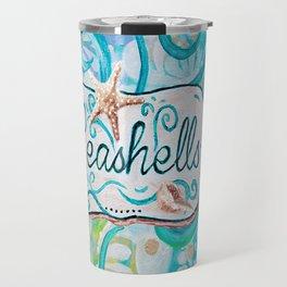 Seashells III by Jan Marvin Travel Mug