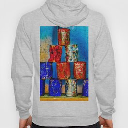 Soup cans. After the lunch Hoody