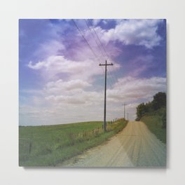 Summer Roadtrip Metal Print