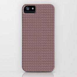 Brown boho abstract modern geometric arrows iPhone Case
