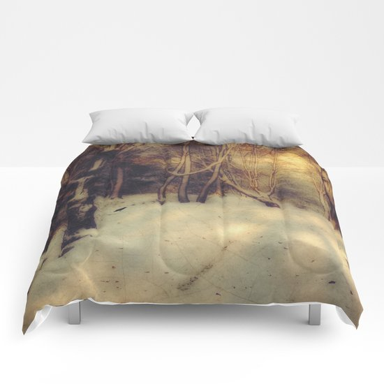 Winter Gold Comforters