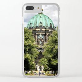 Spying the Berliner Dom. Clear iPhone Case