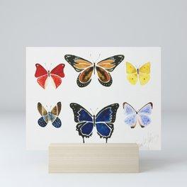 The Butterflies Mini Art Print