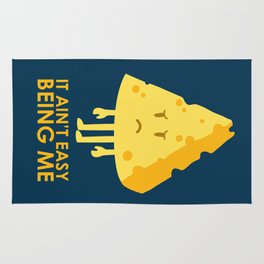 It ain't easy being cheesy Rug