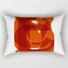 LOVE (Fruits of the Spirit, Galatians 5:22-23) Rectangular Pillow