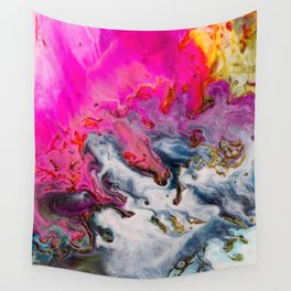 Abstract Melt XII Wall Tapestry