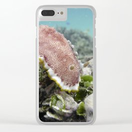 Red Nudibranch Clear iPhone Case