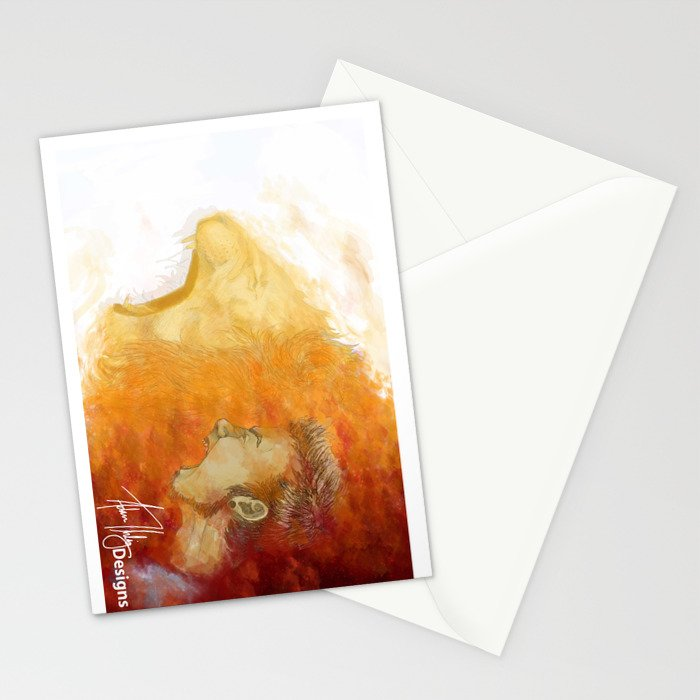 Boldness Enhanced Stationery Cards