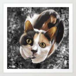 Cute Calico Art Print