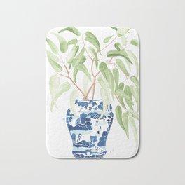 Ginger Jar + Eucalyptus Bath Mat