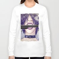 gun Long Sleeve T-shirts featuring Gun by José A. Gómez