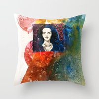 lucy Throw Pillows featuring Lucy by Ecsentrik