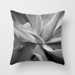 Agave Noir Throw Pillow