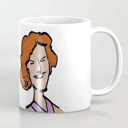 MARIE-SOLANGE / la voix de Villeray / En tout cas. Coffee Mug